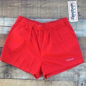 Men's Reebok Chubbies Red Shorts Size Medium